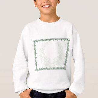 Certificate Scroll Background Template Sweatshirt