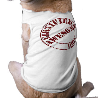 Certified Awesome Pet Shirt