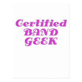 Certified Band Geek Postcards