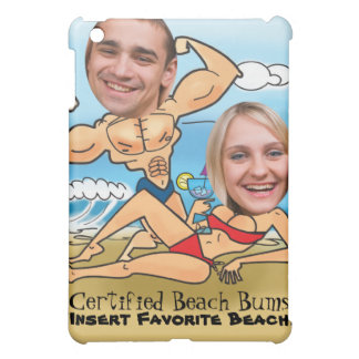 Certified Beach Bums Cut Outs iPad Mini Covers