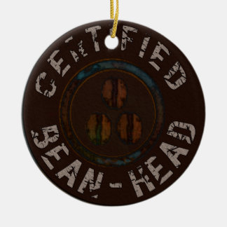Certified Bean-Head Gifts Christmas Ornament