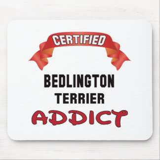 Certified Bedlington Terrier Addict Mouse Pad