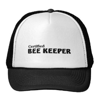 Certified bee Keeper Hat