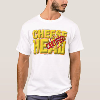 Certified CheeseHead T-Shirt