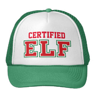 Certified Christmas Elf Cap