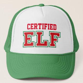 Certified Christmas Elf Trucker Hat