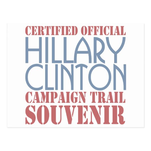 Certified  Clinton Post Card