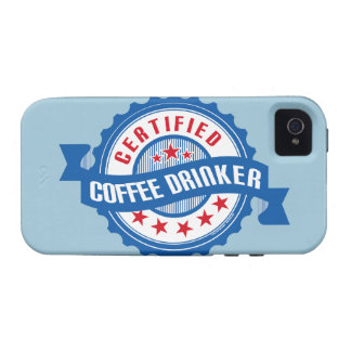 Certified Coffee Drinker iPhone 4/4S Covers