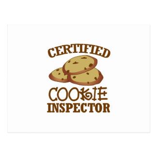 Certified Cookie Inspector Postcard