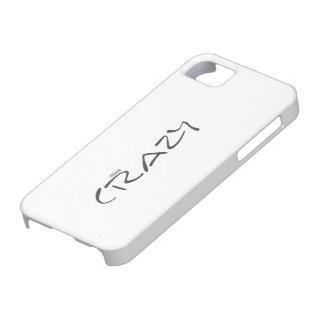Certified Crazy Official Stamp Capital Letters Barely There iPhone 5 Case