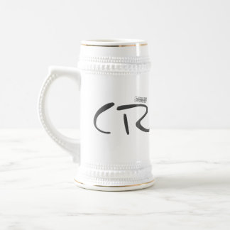 Certified Crazy Official Stamp Capital Letters Coffee Mugs