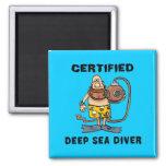 Certified Deep Sea Diver