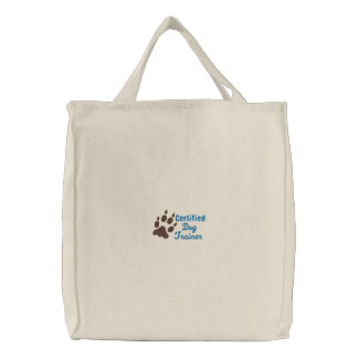 Certified Dog Trainer - Customizable tote Bag