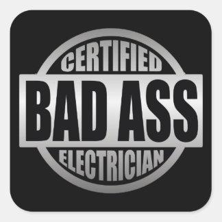 Certified Electricians sticker