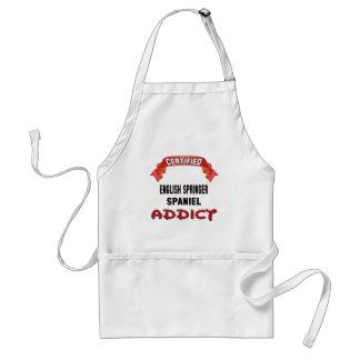 Certified English Springer Spaniel Addict Standard Apron