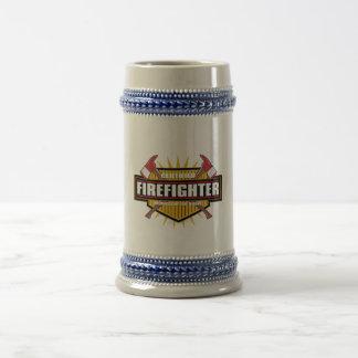 Certified Firefighter Beer Steins
