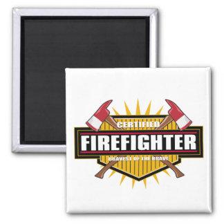 Certified Firefighter Magnet