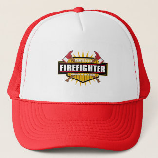 Certified Firefighter Trucker Hat