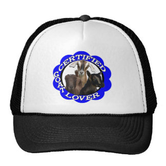 CERTIFIED GOAT LOVER! HAT
