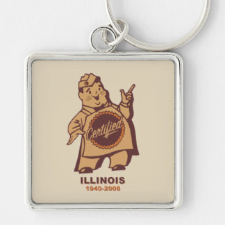 Certified Grocers of Illinois Key Ring
