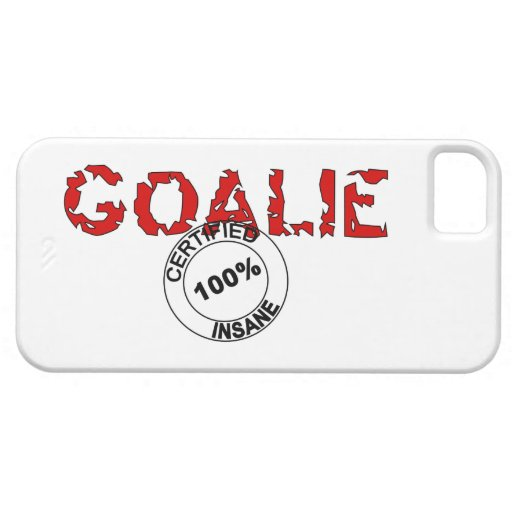 Certified Insane Goalie Iphone Case iPhone 5 Covers