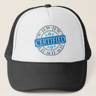 Certified Jew Trucker Hat
