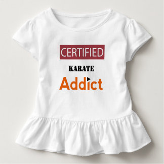 Certified Karate Addict Toddler T-Shirt
