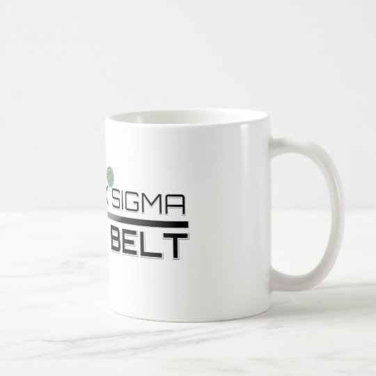 Certified Lean Six Sigma Black Belt Coffee Mug
