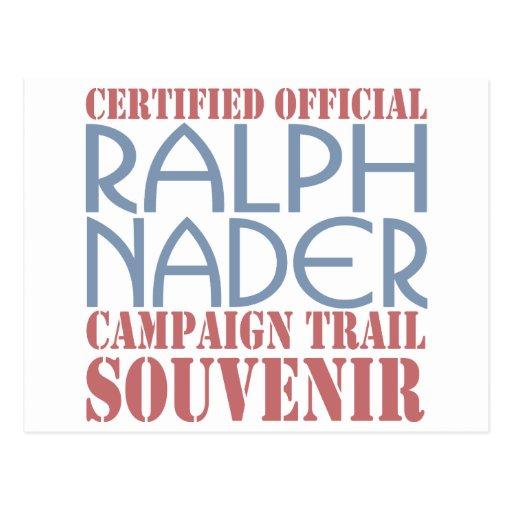 Certified Nader Post Card