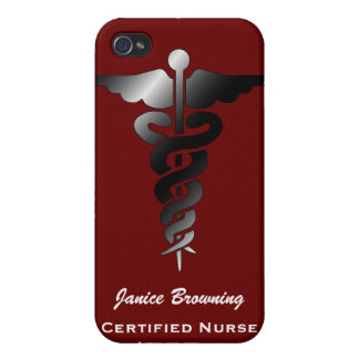 Certified Nurse Assistant I for 4 Cover For iPhone 4