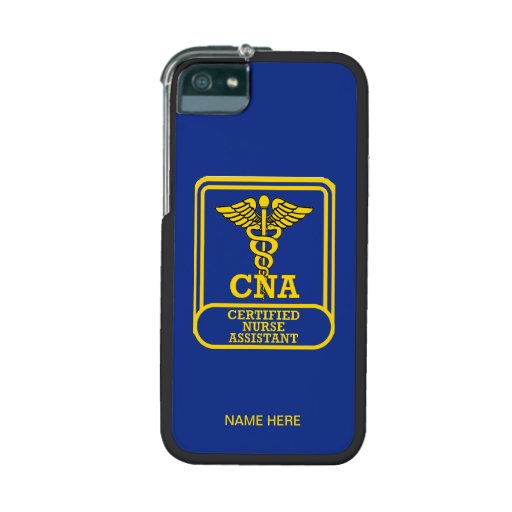 Certified Nurse Assistant Shield Case For iPhone 5/5S