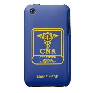 Certified Nurse Assistant Shield Case-Mate iPhone 3 Cases