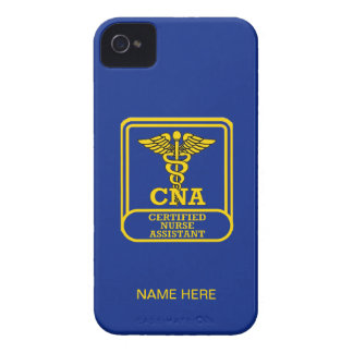 Certified Nurse Assistant Shield iPhone 4 Case-Mate Case
