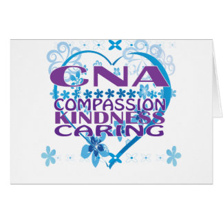 Certified Nurses Assistant Greeting Card