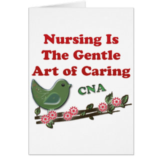 Certified Nursing Assistant Greeting Card