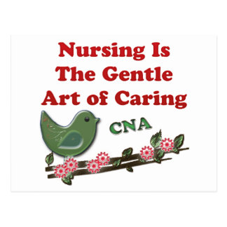 Certified Nursing Assistant Postcard