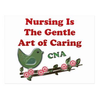 Certified Nursing Assistant Postcard
