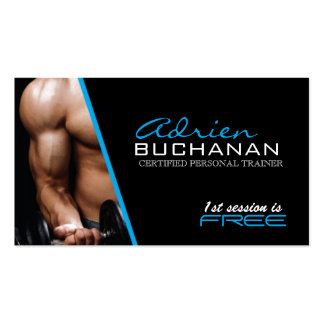 Certified Personal Trainer Pack Of Standard Business Cards