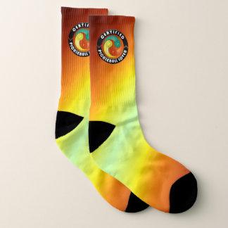 Certified Pickleball Lover 1 All-Over-Print Socks