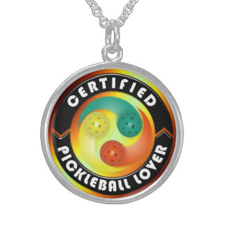 Certified Pickleball Lover 1 Necklace Options