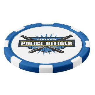 Certified Police Officer Poker Chips