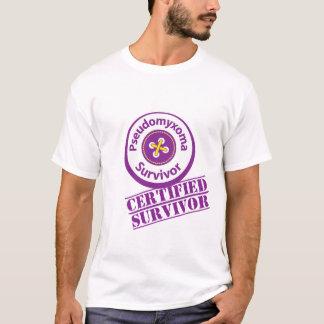 Certified Pseudomyxoma Survivor T-Shirt