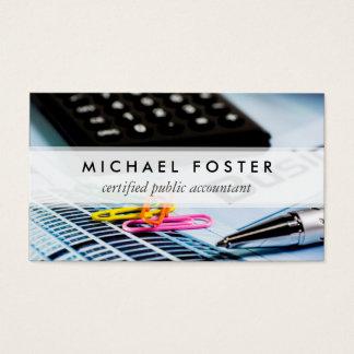 Certified Public Accountant Simple Minimal Elegant
