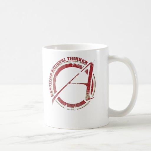 Certified Rational Thinker Coffee Mugs