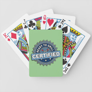 Certified Ready to Grill Poker Deck