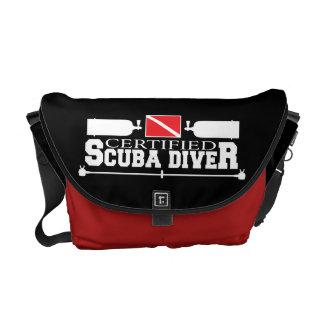 Certified Scuba Diver Messenger Bag
