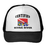 Certified SCUBA Diver Trucker Hats