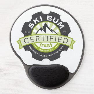 Certified Ski Bum Gel Mouse Mat