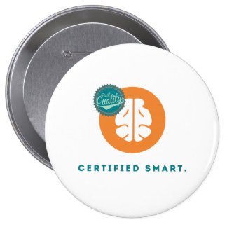 Certified Smart Pinback Button
