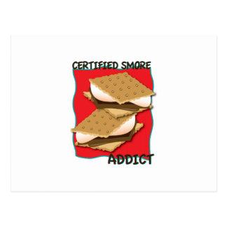 Certified Smore Addict Postcards